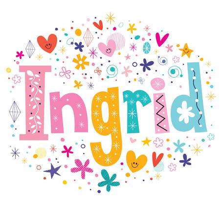 scandinavian: Ingrid Scandinavian feminine given name
