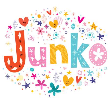 feminine: Junko - a feminine Japanese given name