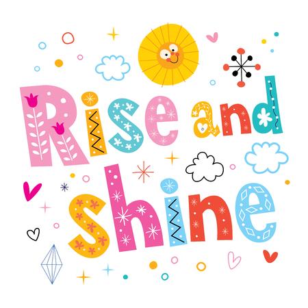 morning sun: Rise and shine