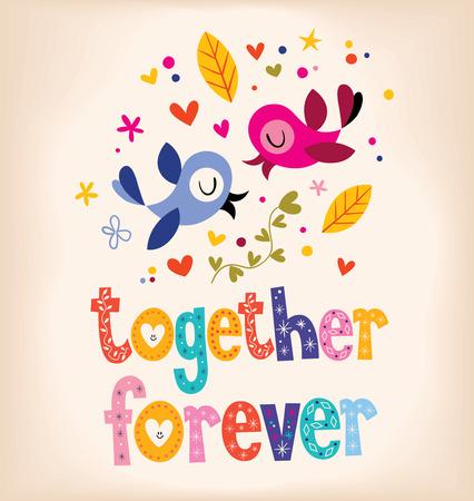 forever: together forever Illustration