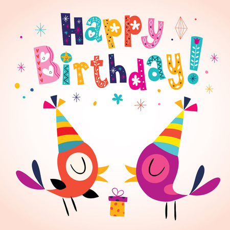 birthdays: Happy Birthday greeting card