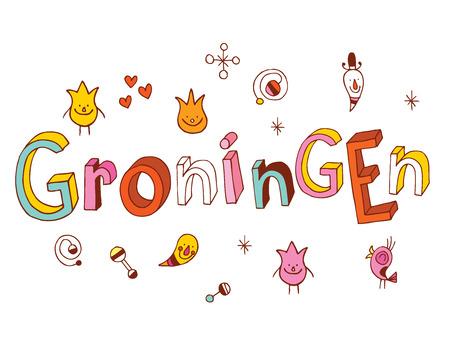 groningen: Groningen Illustration