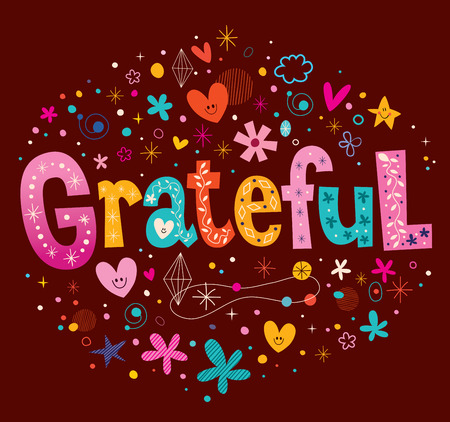 grateful: grateful Illustration