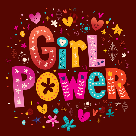 macht van het meisje