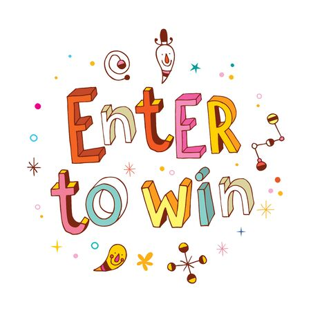 enter: Enter to win Illustration
