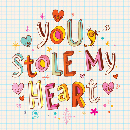 stole: you stole my heart