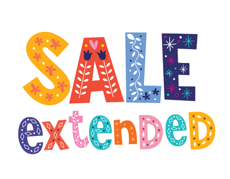 sale extended