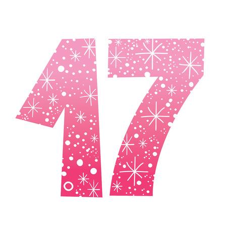 sweet seventeen: number seventeen