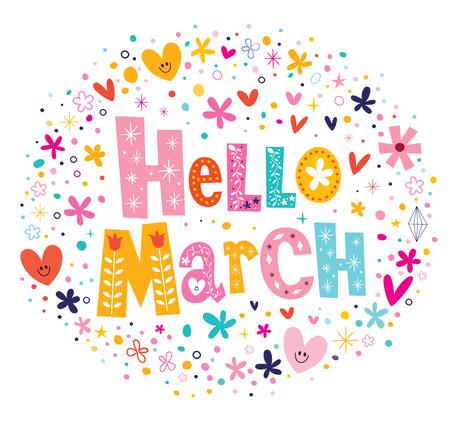 hello heart: Hello March