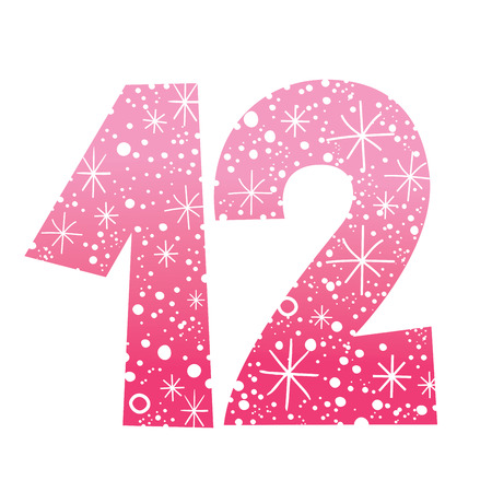 numéro douze Vecteurs