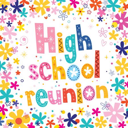 reunion: high school reunion