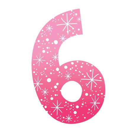 sixth birthday: number six