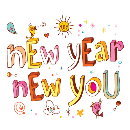 you: New Year new you Illustration