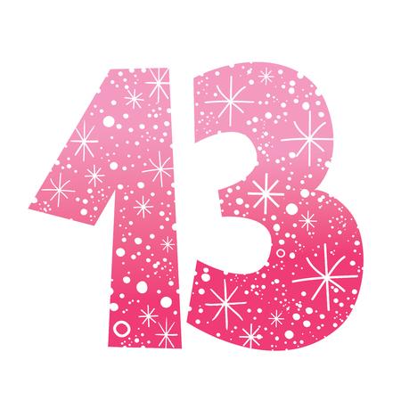 thirteen: number thirteen