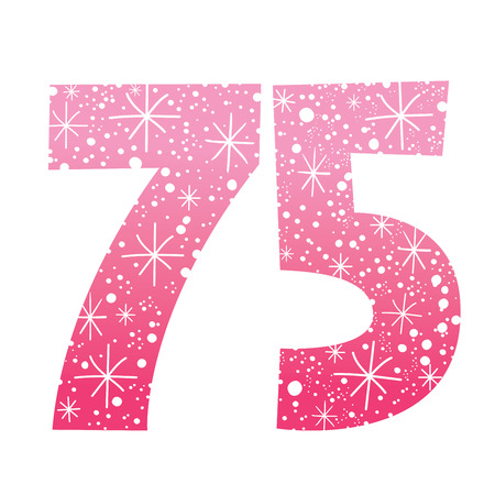 age 5: number seventy-five