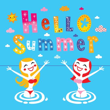 sexy blonde girl: hello summer