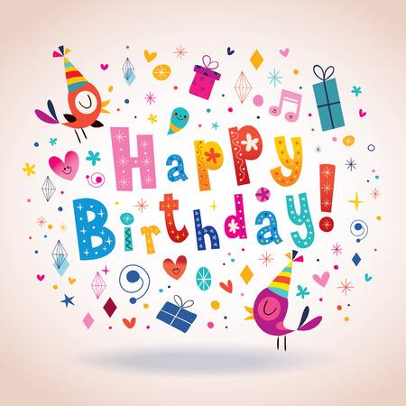 greeting: Happy Birthday greeting card