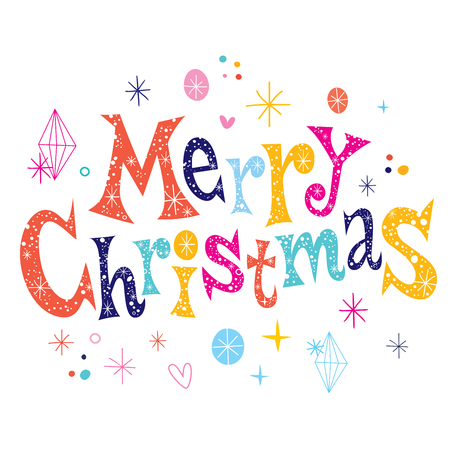 greeting: Merry Christmas greeting card