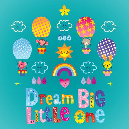 little one: Dream big little one