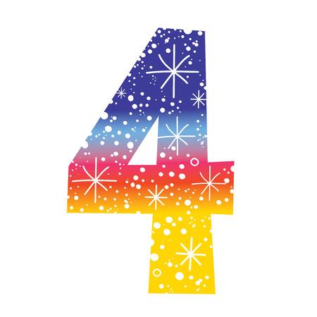 celebratory: celebratory number four
