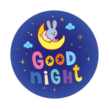 good night Stock Vector - 79471508