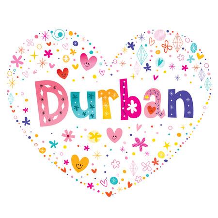 Ville de Durban en Afrique du Sud Banque d'images - 81377541