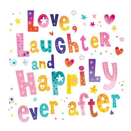 Liefsgelach en nog lang en gelukkig