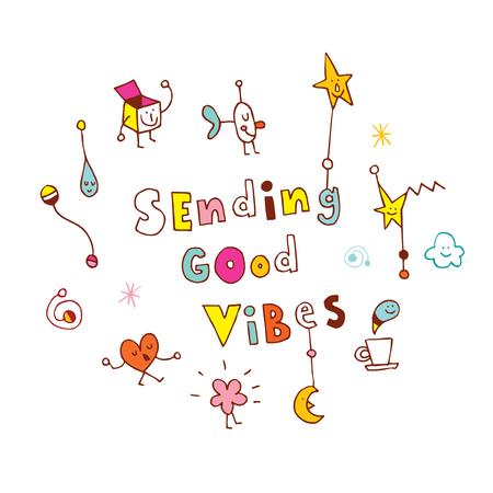 Goede vibes verzenden