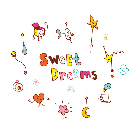 sweet dreams Illustration