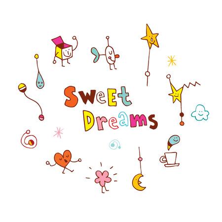 sweet dreams Ilustração