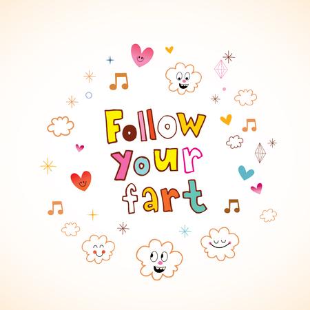 follow your fart