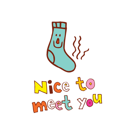 An illustration of Nice to meet you