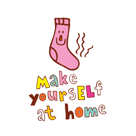 An illustration of Make yourself at home