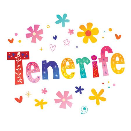 Tenerife eiland in Spanje