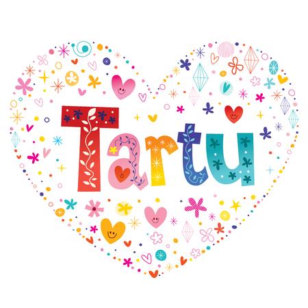 Tartu Stadt in Estland Standard-Bild - 91810164