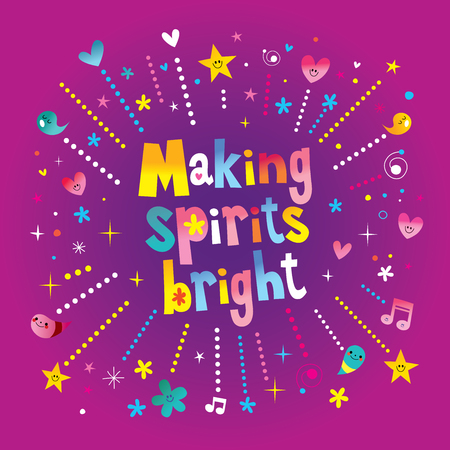 Making spirits bright - Christmas holiday design