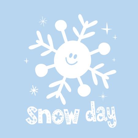 Sneeuwdag Stockfoto - 92926167