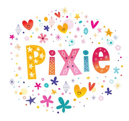 Pixie girls 이름