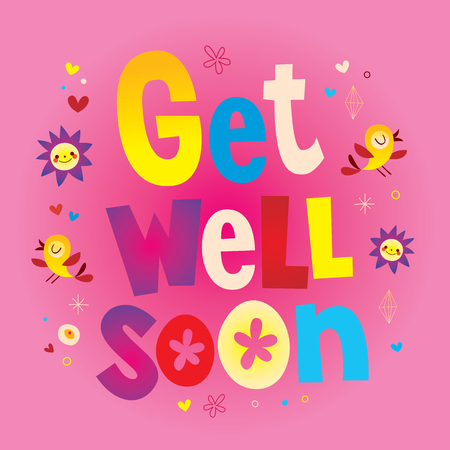 Get 1well soon greeting card