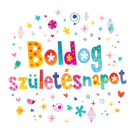 Happy birthday in Hungarian
