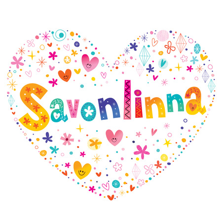 Savonlinna town and a municipality in Finland