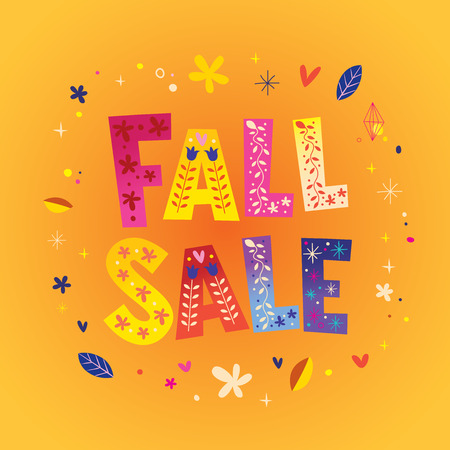 FALL SALE banner 写真素材 - 120478667