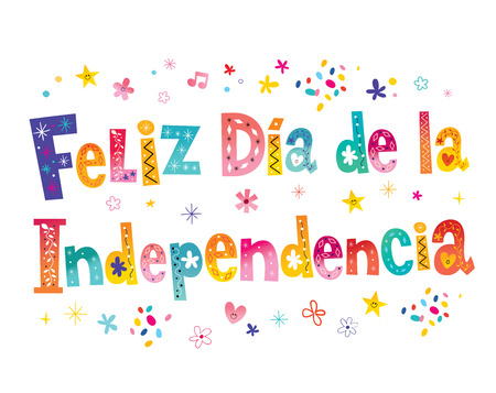Happy Independence Day in Spanish