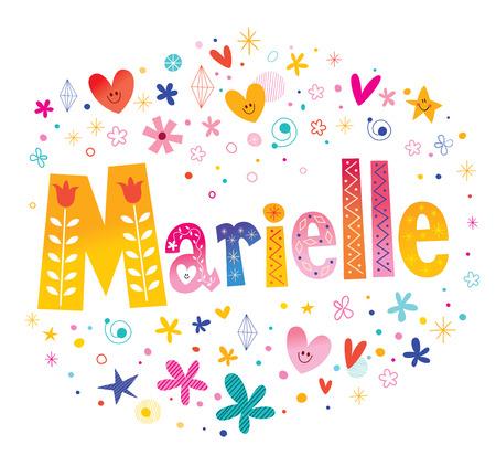 Marielle - Prénom féminin français