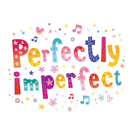 perfectly imperfect 일러스트