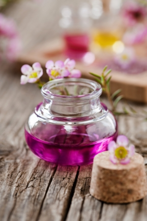 scented: scented oil Stock Photo
