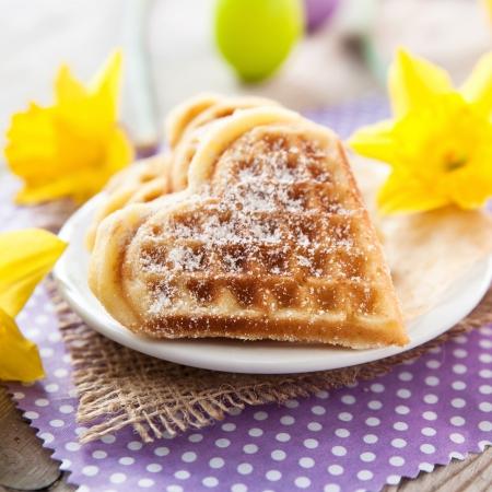 waffles: gofres horneados