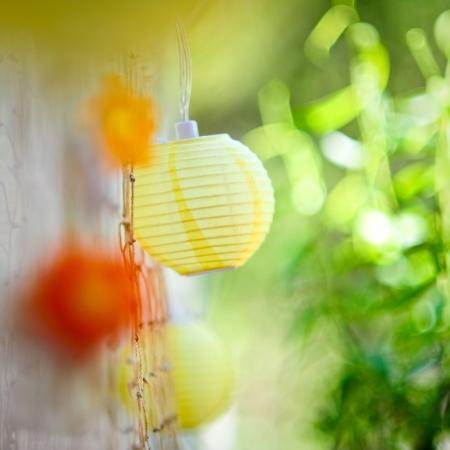 laterns: natural summer decoration
