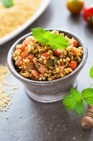 exotic bulgur photo