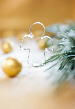 christmas angels: golden angel